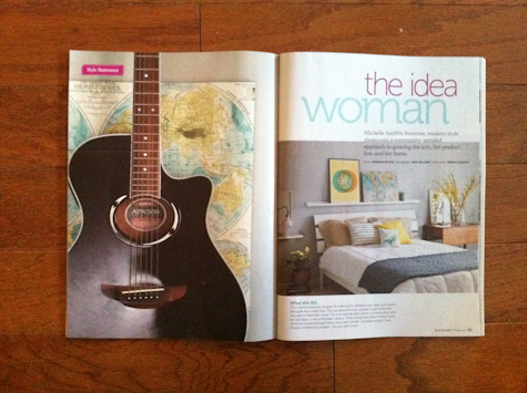Michelle Smith Do It Yourself Magazine