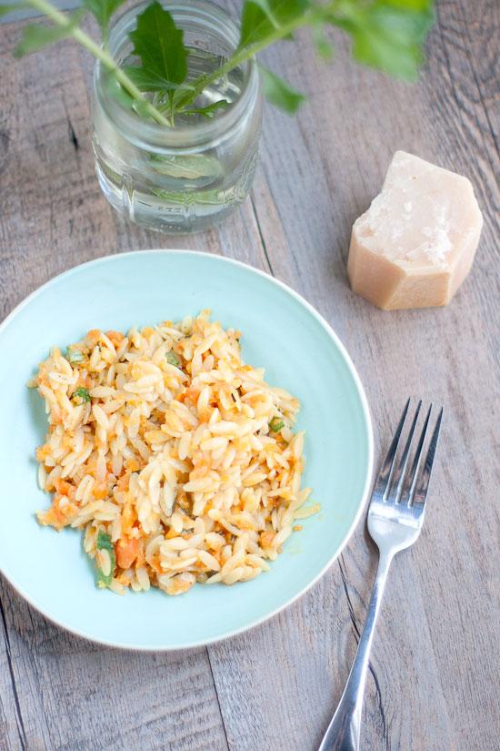 Carrot Orzo Recipe