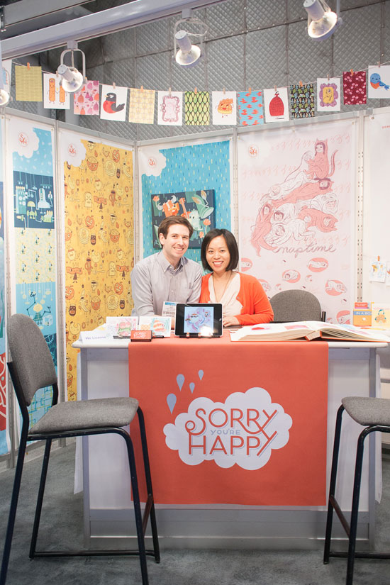 Sorry You're Happy Surtex Booth