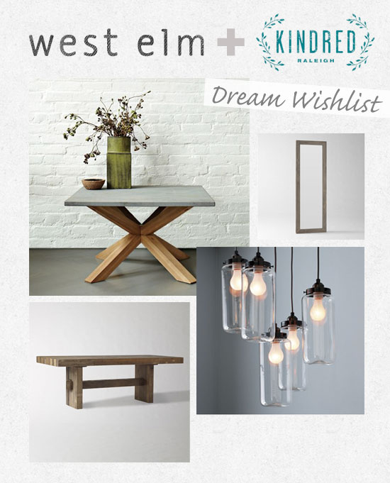 West Elm Wish List