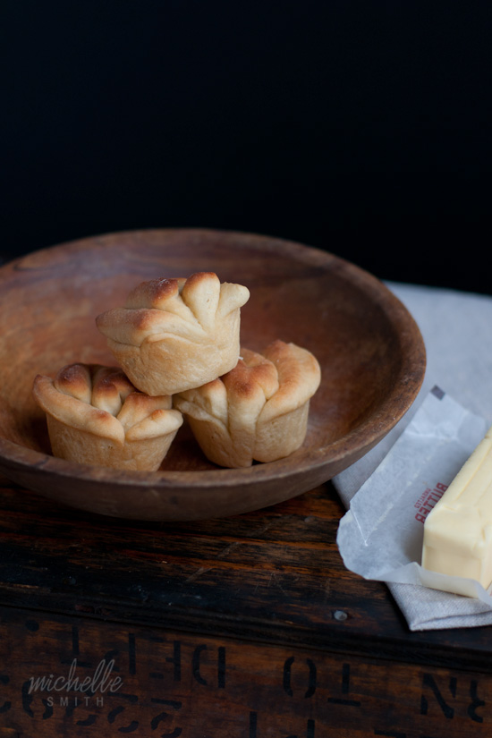 Buttermilk Fantail Rolls Recipe