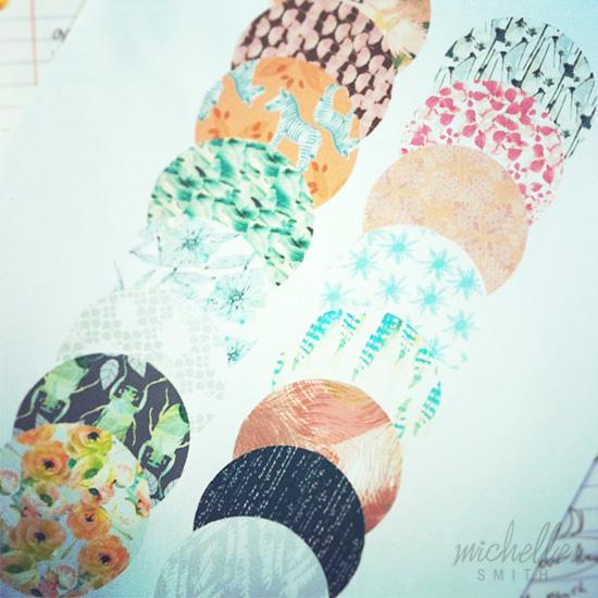 Michelle Smith Surface Design Textile Patterns