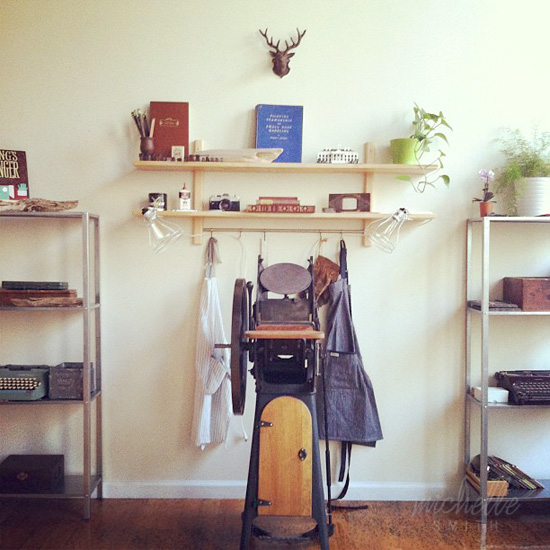 This Paper Ship Letterpress Studio/Loft
