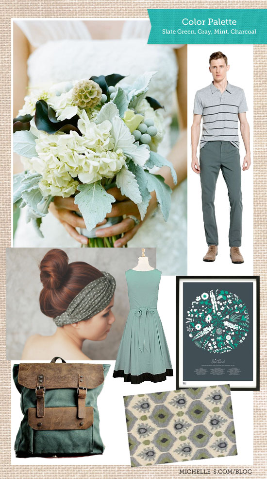 Slate Green Color Palette