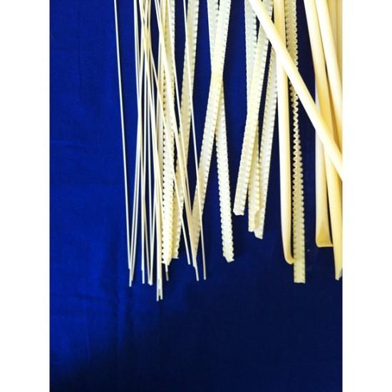 Pasta on Blue Backaground, Michelle Smith Instagram