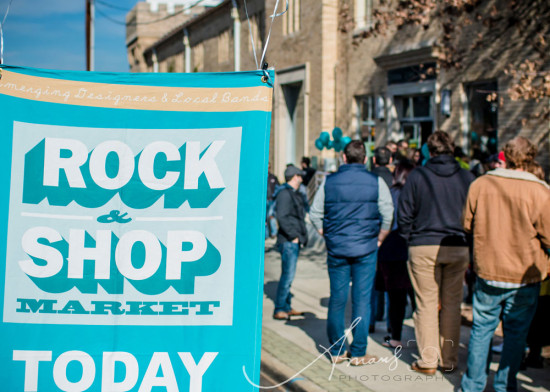 The Rock & Shop Market, Durham, NC | Produced by Michelle Smith of Gather Goods Co