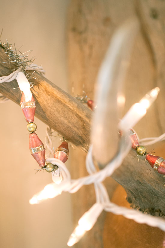 Antlers & Twinkle Lights, Home of Michelle Smith