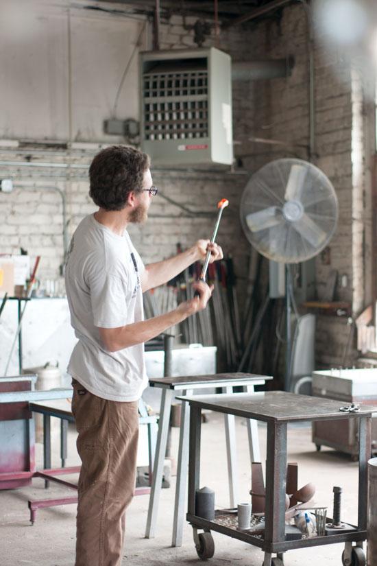 Asheville Glass Studio - Photo by Michelle Smith