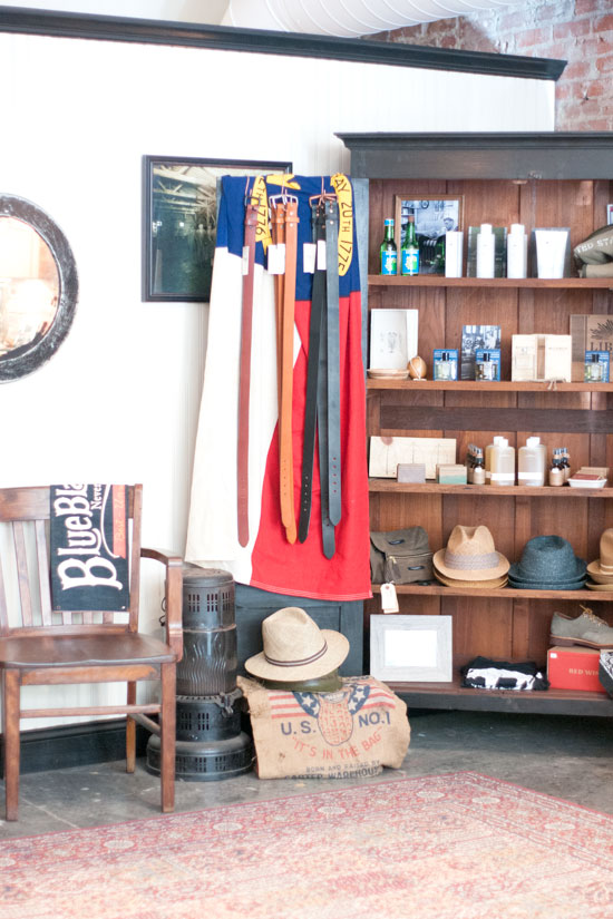 Old North Clothing, Asheville, North Carolina - Photo by Michelle Smith