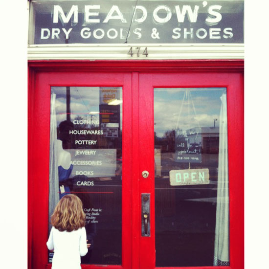 Meadows Dry Goods, Photo by Michelle Smith