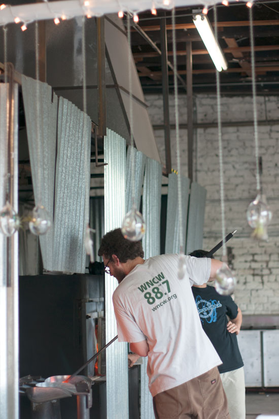 Asheville Glass Studio - Photo by Michelle Smith