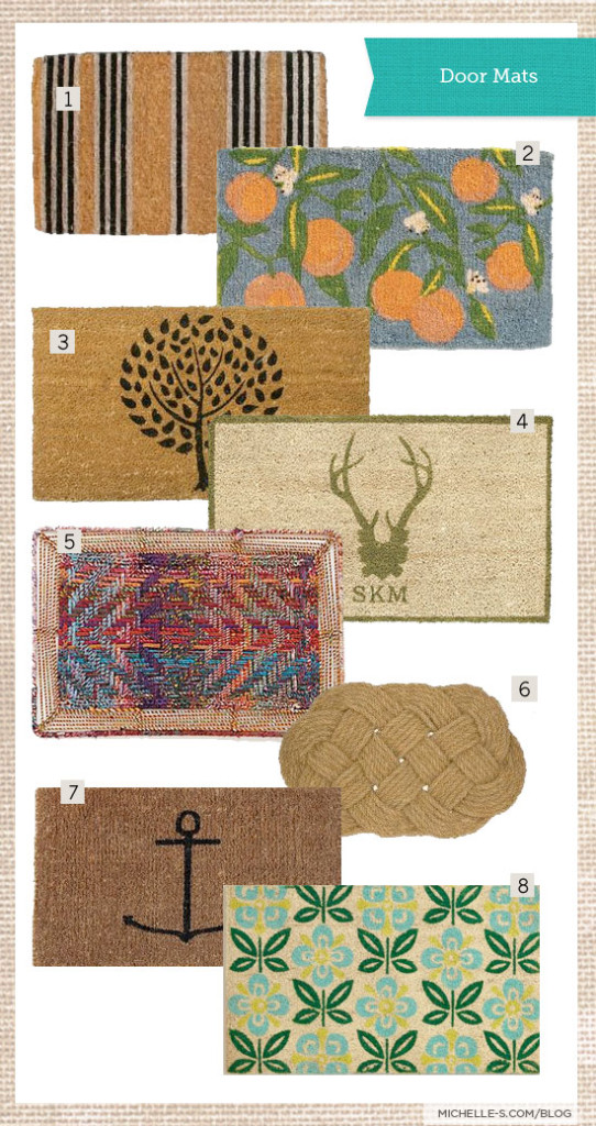 Door Mat Roundup