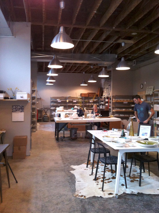 Studio Tour, Element Ceramics, Asheville, NC - Photo by Michelle Smith