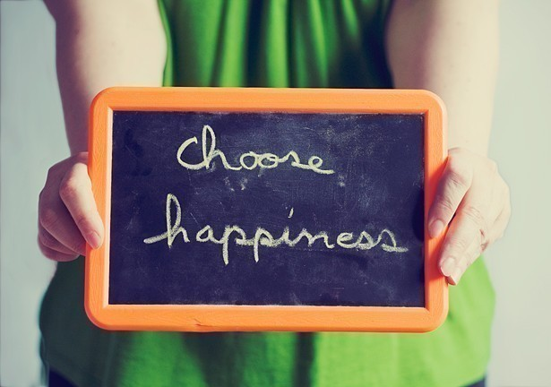 Choose Happiness - the science of happiness and tips on how to improve your well being