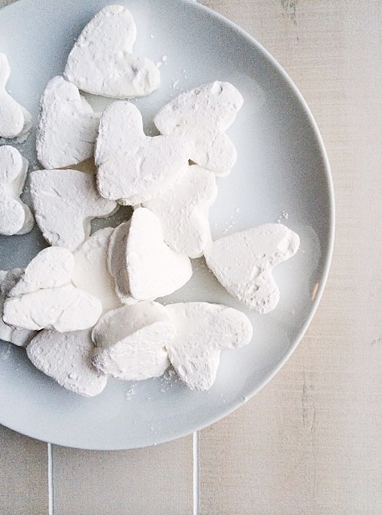 Heart Shaped Marshmallow Recipe, Photo by Michelle Smith