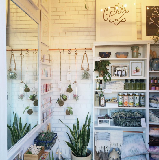 Gather, A Tiny Retail Shop, Gifts & Garden in Downtown Raleigh, North Carolina