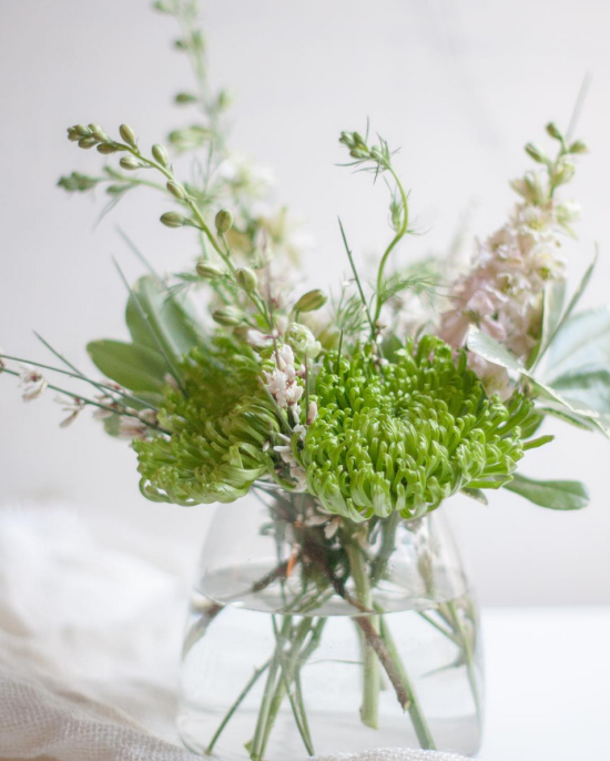 Simple Green Floral Arrangment | Gather Goods