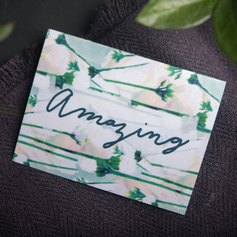 Amazing Greeting Card | By Designer Michelle Smith of Gather Goods