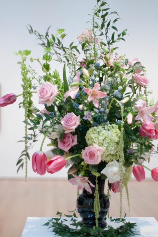 Large Flower Arrangement at Art in Bloom at the North Carolina Museum of Art in Raleigh, North Carolina | Floral Photography by Michelle Smith of Gather Goods Co